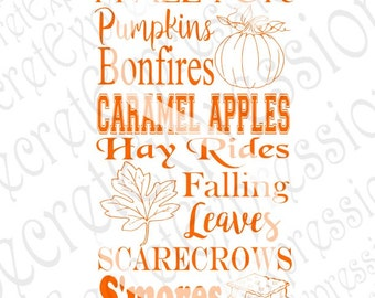 I Fall For Pumpkins svg, Fall Subway svg, fall svg, autumn svg, Digital Cutting File, DXF, JPEG, SVG, Cricut Svg, Silhouette Svg