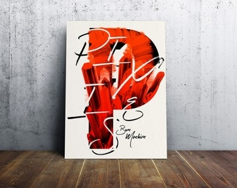 Pixies / screenprint poster