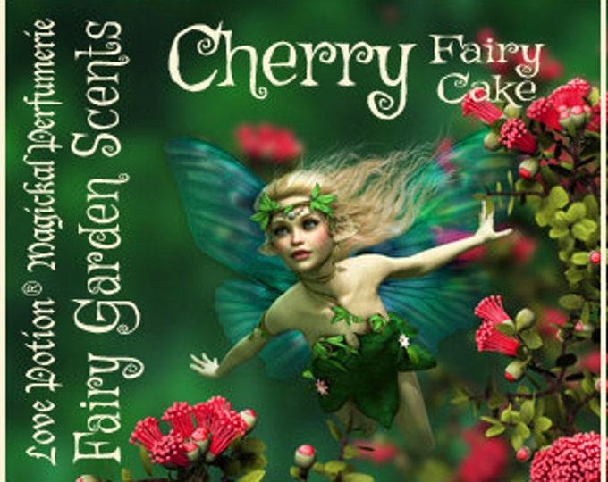 Fairy Cake: Cherry - Sweet & Youthful Layerable Perfume - Love Potion Magickal Perfumerie