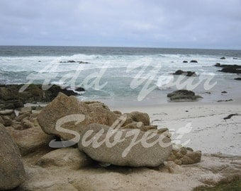 Digital Beach Photo Backgrounds Download Scenic Backdrops Package of 4