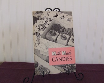 Milk Made Candies, Vintage Cookbook