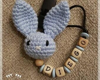 Chupetero Bunny Amigurumi