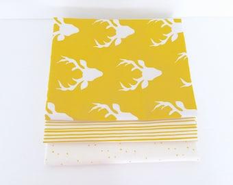 SALE!! 1 Yard Bundle Hello, Bear by Art Gallery Fabrics with Essentials- 3 Fabrics