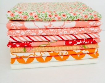 1/2 Yard Bundle Hello Darling by Bonnie and Camille for Moda- 9 Fabrics