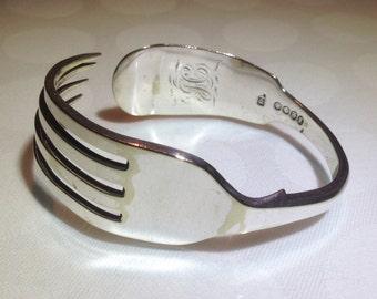 Vintage Silver Plate Bracelet \ Bangle