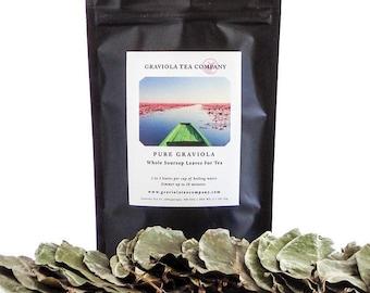 Pure Graviola -  Whole Soursop Leaves for Tea