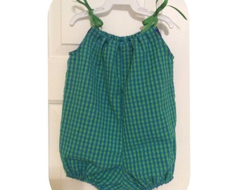 Baby Bubble Romper- Summer Girl Outfit