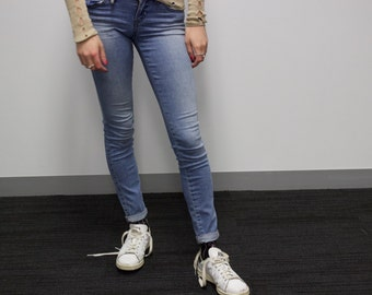 Guess Jeans w/ custom decal
