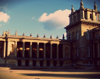 Instant Download Printable Photography Digital Photo Download Blenheim Estate Photo England Photo Castle Photo Europe Castle Architecture