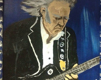 """8"""" x 10"""" Neil Young Painting"""