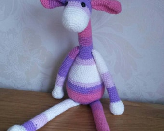 Lovely Crochet Giraffe