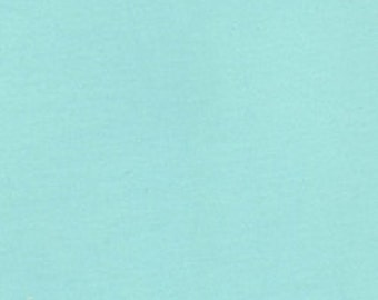 Pale Seafoam Medium Weight 10 oz Cotton Lycra Jersey Knit Solid [SKU:MFR14FAB001II]