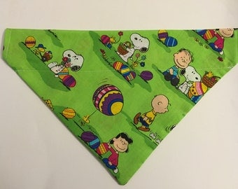 Dog bandana, Easter, Peanuts