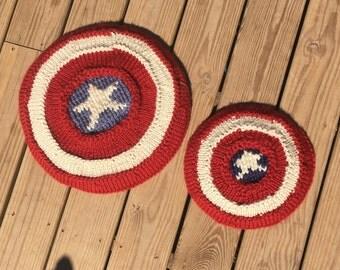 American Super Hero Shield PATTERN