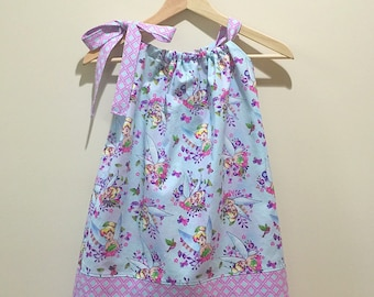 Tinkerbell Pillowcase Dress, Sizes 18 months to 4T