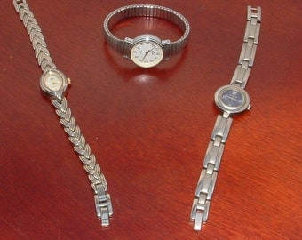 ZERO SHIPPING!  Vintage Timex, Rumours and Faded Glory Women's Watches