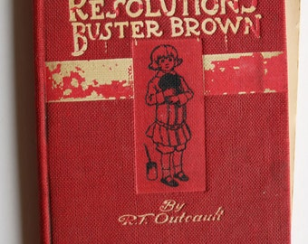 My Resolutions, Buster Brown by R T Outcault