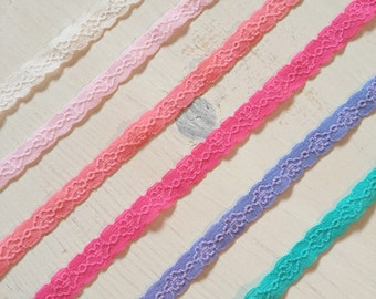 Elastic Lace Headband