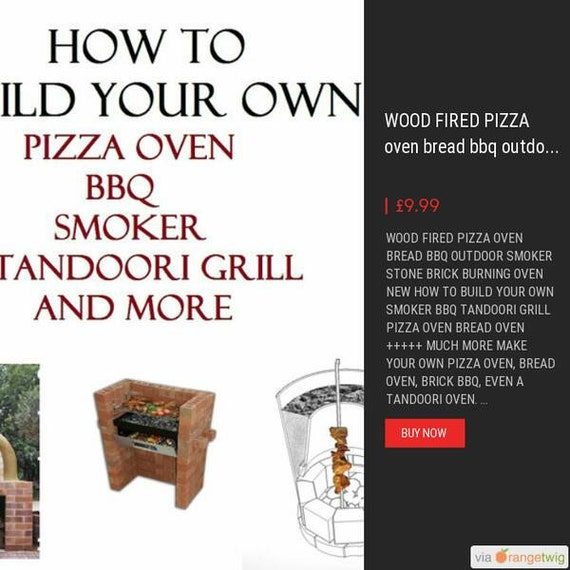 Oldurbanfarmhouse wood fired pizza oven bread bbq for How to make a brick stove