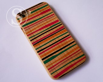 Geometric phone case, Wood iPhone 6 case, Wood iPhone 7 case, Wood iPhone 7 Plus case, Wood iPhone 6s case, Wood iPhone 6 Plus case, SD-19