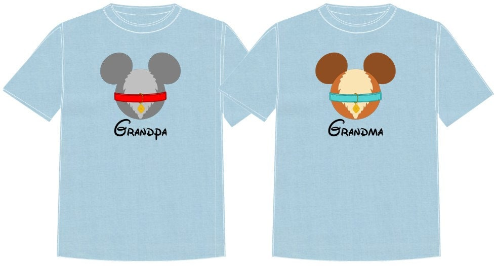 Lady And The Tramp Disney Vacation Group Shirts