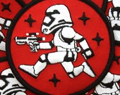 Dark Side Patch - Blaster Red