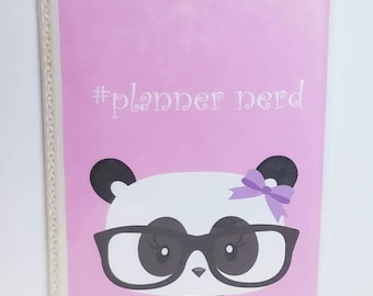 Kawaii panda Planner sticker storage.  Great for all of  your smaller planner stickers