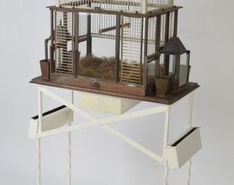 Victorian Wrought Iron Bird Cage