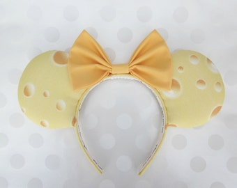 Say Cheese! Mouse Ears Headband, Custom Ears