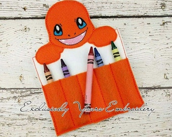 Char Crayon Holder, Toddler Arts and Crafts, Back To School, Travel Case