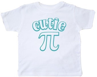Cutie Pi Toddler T-Shirt by Inktastic