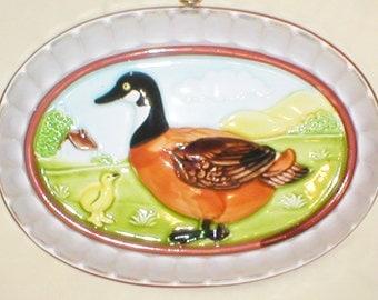Vintage Ceramic Duck Jello Mold Wall Hanging, Gailstyn Sutton Towle Company, Home Decor, Kitchen Decorative Accent