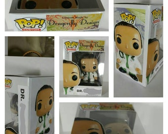 Deluxe Custom Funko Pop Handmade Box Upgrade for Nerdmitage Custom Pop Purchase Only *See Item Description*