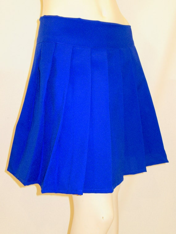 royal blue pleated skirtroyal blue hockey sport s by
