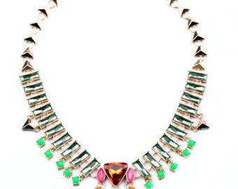2015 New Arrival Women's Boutique Bib Statement Necklace Collar