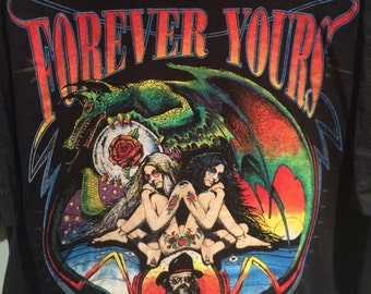 Absolutely stunning vintage Forever Yours tattoo shirt