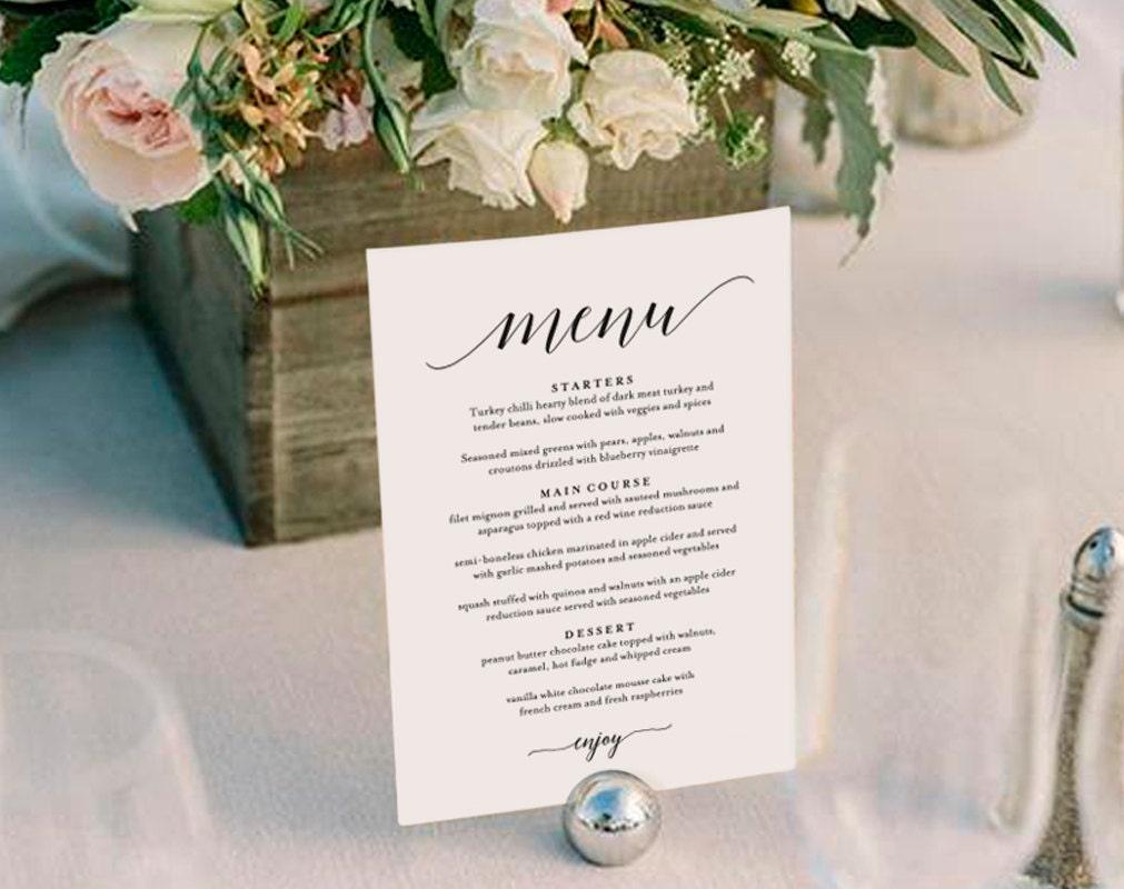 wedding menu gerhard leixltk