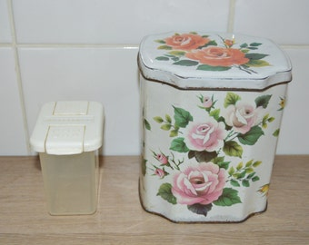 Small box vintage plastic - Betterware - spice box