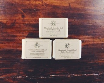 Handmade Tallow Soap