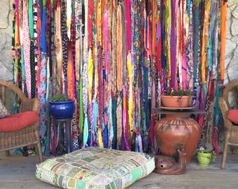 Bohemian, gypsy style curtains!