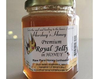 Royal Jelly in Hershey's Honey 30,000 mg.