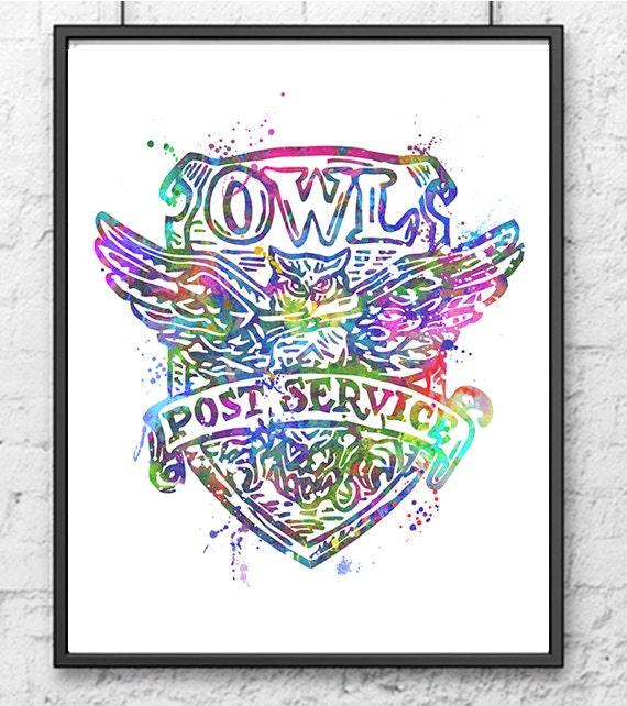 Harry Potter Acceptance Letter Owl Pendant Necklace Post ...  Harry Potter Owl Service