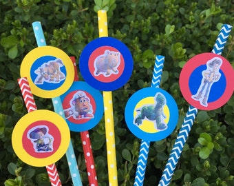 Toy Story Paper Straw