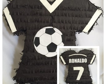 Sports Jersey Pinata , Customize Sport, Color Name & Age  FREE