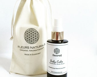 Baby Calm- 100ml Aromatherapy Room and Linen mist