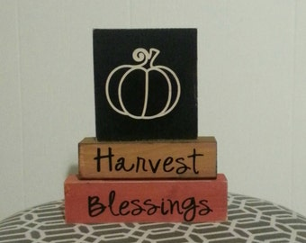 Harvest Blessings: Stacking Blocks