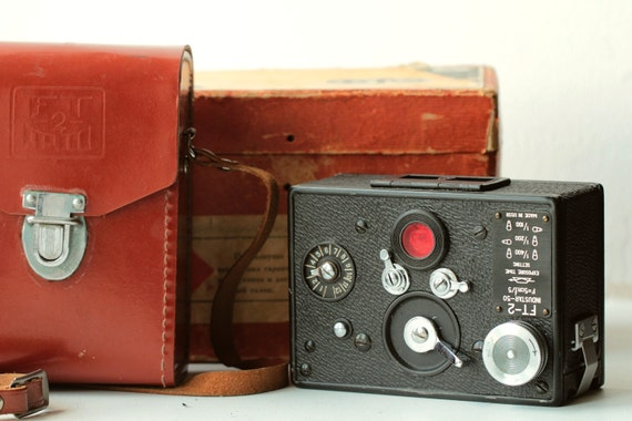 Horizont FT-2 ФТ-2 Kmz Collectible USSR Soviet 35mm Panoramic Camera Vary Rare!
