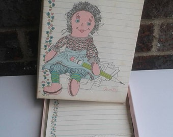 Vintage Montag Dear Friend Stationary