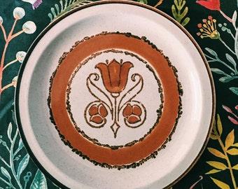 Stoneybrook japanese stoneware dinner plate villa S-1315