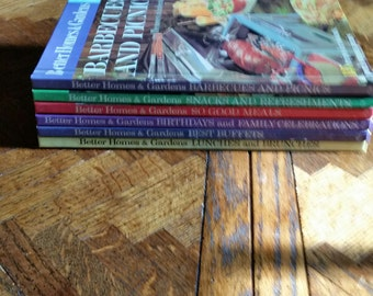 Creative Cooking Library Better Homes & Gardens Set of 6